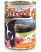 Prince Premium Dog Kurczak, mango, bataty puszka 400g