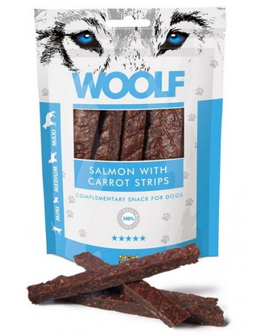 Woolf Salmon With Carrot Strips 100g