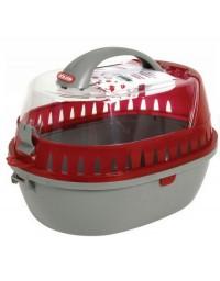 Zolux Transporter dla gryzoni średni czerwony [208012]