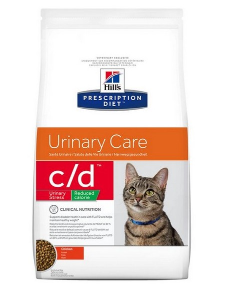 Hill's Prescription Diet c/d Feline Urinary Stress / Reduced Calorie 8kg
