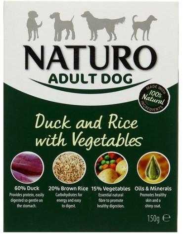 Naturo Adult Kaczka z ryżem i warzywami 150g