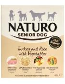 Naturo Senior indyk z ryżem i warzywami 400g