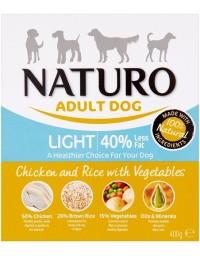 Naturo Light Kurczak z ryżem i warzywami 400g