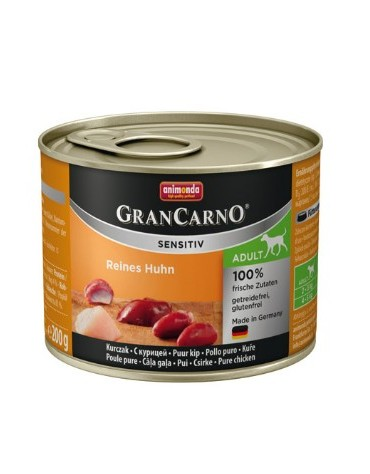 Animonda Gran Carno Sensitiv Kurczak 200g