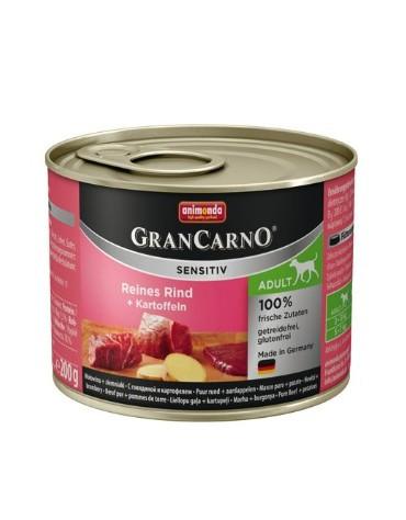 Animonda Gran Carno Sensitiv Wołowina + ziemniaki 200g