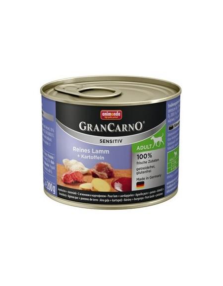 Animonda GranCarno Sensitiv Jagnięcina + ziemniaki puszka 200g