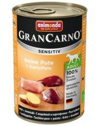 Animonda GranCarno Sensitiv Indyk + ziemniaki puszka 400g