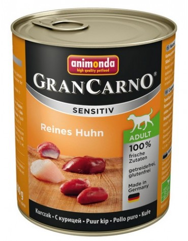 Animonda Gran Carno Sensitiv Kurczak 800g