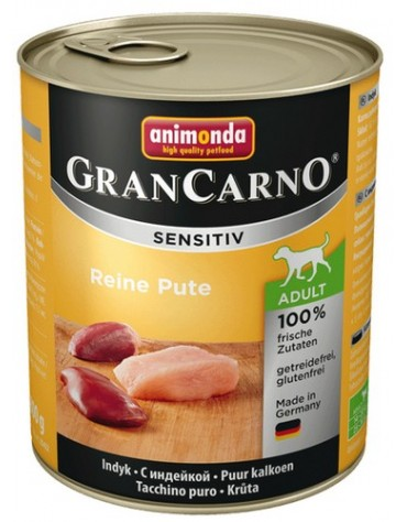 Animonda Gran Carno Sensitiv Indyk 800g