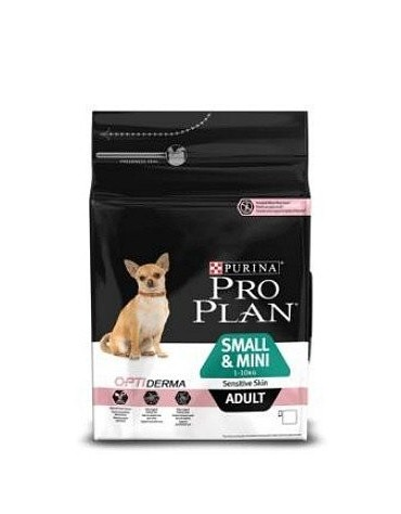 Purina Pro Plan Adult Small & Mini OptiDerma Sensitive Skin 700g