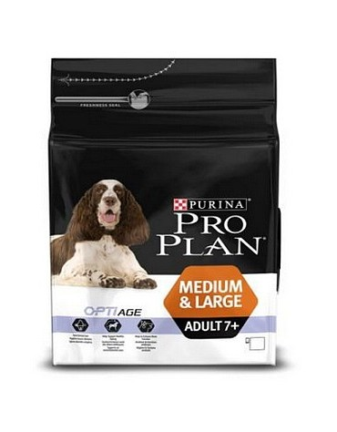 Purina Pro Plan Adult 7+ Medium & Large OptiAge 3kg