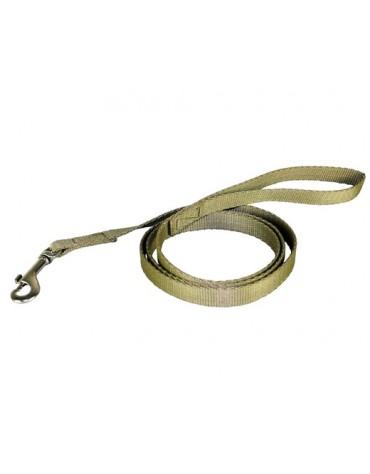 CHABA Smycz taśma - 12mm khaki