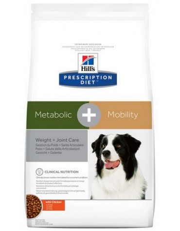 Hill's Prescription Diet Metabolic+Mobility Canine z Kurczakiem 12kg