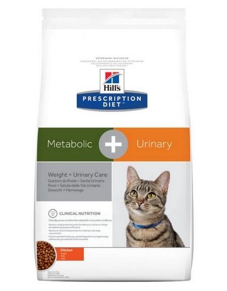 Hill's Prescription Diet Metabolic+Urinary Feline z Kurczakiem 4kg