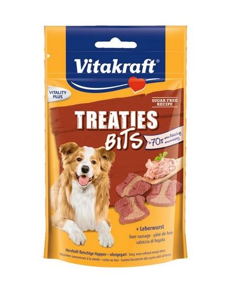 Vitakraft Dog Treaties Bits - Smaczne Kawałki - wątroba 120g [2328807]