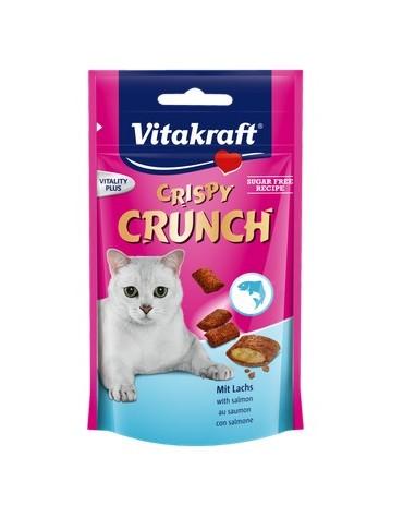 Vitakraft Cat Crispy Crunch łosoś 60g [2428815]