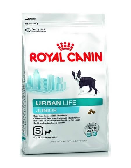 Royal Canin Urban Life S Junior karma sucha dla szczeniąt ras małych żyjących w środowisku miejskim 1,5kg