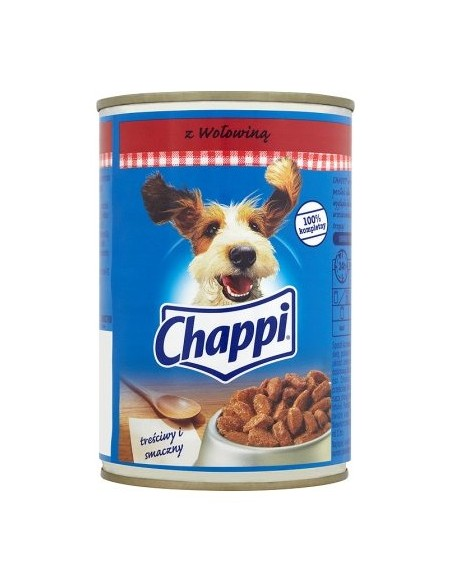 Chappi Wołowina puszka 400g