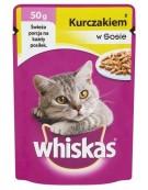 Whiskas Mini Kurczak sos 50g