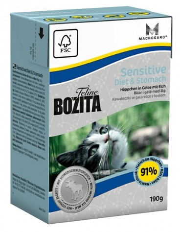 Bozita Cat Tetra Recart Feline Diet & Stomach 190g