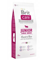 Brit Care New Junior Large Breed Lamb & Rice 12kg