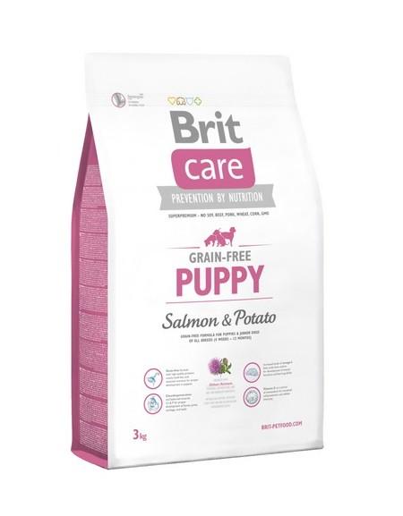 Brit Care Grain Free Puppy Salmon & Potato 3kg