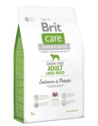 Brit Care Grain Free Adult Large Salmon & Potato 3kg