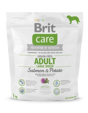 Brit Care Grain Free Adult Large Salmon & Potato 1kg