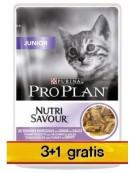 Purina Pro Plan Cat Junior saszetka 4x85g 3+1 gratis