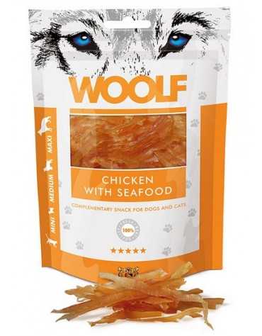 Woolf Chicken With Seafood 100g