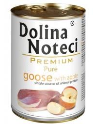 Dolina Noteci Premium Pies Pure Gęś i jabłko puszka 400g