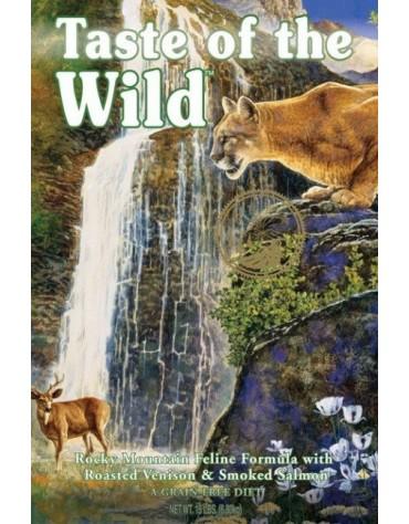 Taste of the Wild Rocky Mountain Feline z dziczyzną i łososiem 7kg