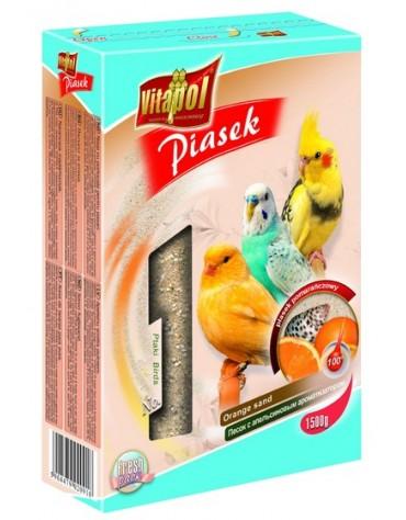 Vitapol Piasek dla ptaków pomarańczowy 1,5kg [2091]
