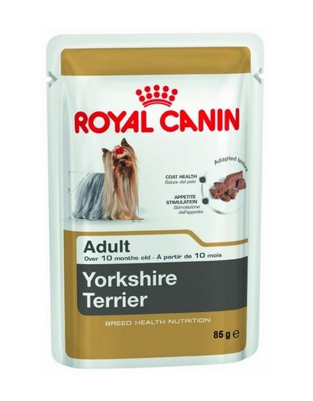 Royal Canin Yorkshire Terrier Adult karma mokra - pasztet, dla psów dorosłych rasy yorkshire terrier saszetka 85g