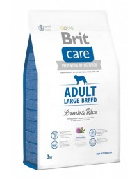 Brit Care New Adult Large Breed Lamb & Rice 3kg