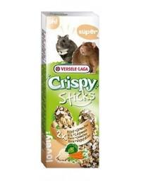 Versele-Laga Crispy Sticks Hamster & Rat Rice & Vegetables - kolby dla chomików i szczurów z ryżem i warzywami 110g