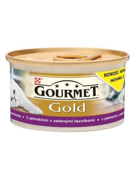 Gourmet Gold Savoury Cake z Jagnięciną i zieloną fasolą 85g