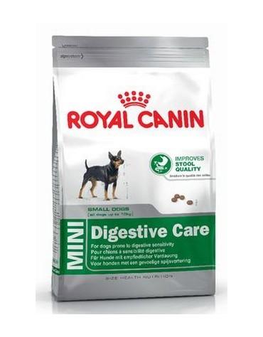 Royal Canin Mini Digestive Care karma sucha dla psów dorosłych, ras małych o wrażliwym przewodzie pokarmowym 800g