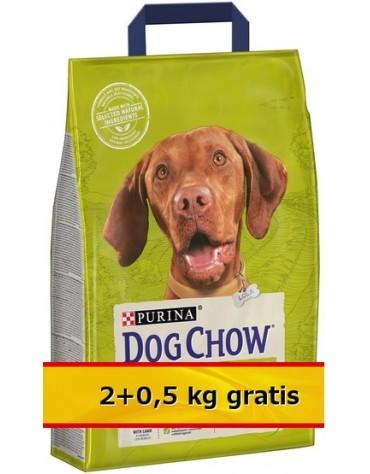 Purina Dog Chow Adult Jagnięcina 2,5kg (2+0,5kg)