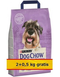 Purina Dog Chow Senior Jagnięcina 2,5kg (2+0,5kg)