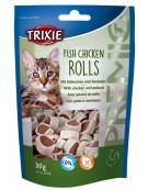 Trixie Premio Fish Chicken Rolls - krążki z kurczakiem i łososiem [42702]