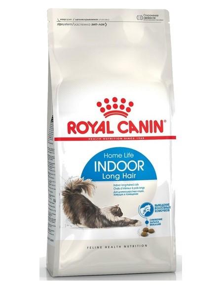 Royal Canin Indoor Long Hair karma sucha dla kotów dorosłych, długowłose, przebywających wyłącznie w domu 400g
