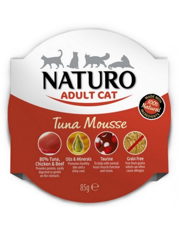 Naturo Kot Adult Tuńczyk tacka 85g