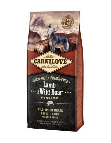 Carnilove Dog Lamb & Wild Boar Adult - jagnię i dzik 1,5kg