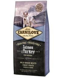 Carnilove Dog Salmon & Turkey Puppy - łosoś i indyk 1,5kg