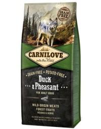 Carnilove Dog Duck & Pheasant Adult - kaczka i bażant 12kg