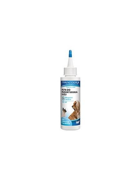 Francodex Płyn do uszu dla kotów i psów 125ml [FR179134]