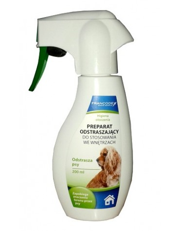 Francodex Spray przeciw oznaczaniu terenu przez psy 200ml [FR179125]