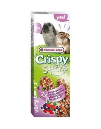 Versele-Laga Crispy Sticks Rabbit & Chinchilla Forest Fruits - kolby dla królików i szynszyli z leśnymi owocami 110g