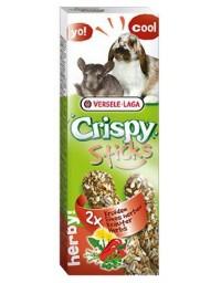 Versele-Laga Crispy Sticks Rabbit & Chinchilla Herbs - kolby dla królików i szynszyli z ziołami 110g
